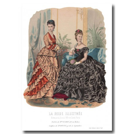 La Mode Illustrée 1874 49