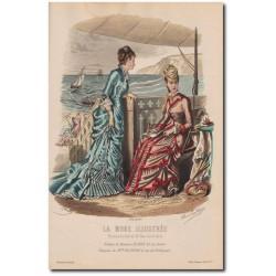 La Mode Illustrée 1878 32