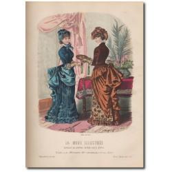 Gravure de La Mode Illustrée 1883 08
