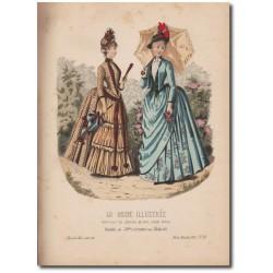 Gravure de La Mode Illustrée 1887 15