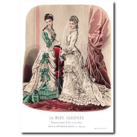 La Mode Illustrée 1877 08