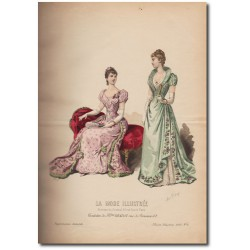 La Mode Illustrée 1891 02