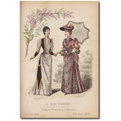 La Mode Illustrée 1891 13