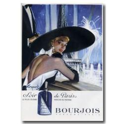 Publicité Parfum Soir de Paris 1952