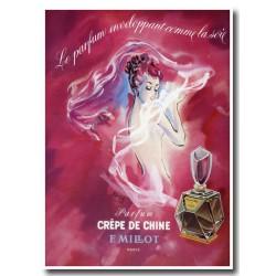 Publicité Parfum Crêpe de Chine 1947