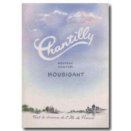 Publicité Parfum Houbigant Chantilly 1949
