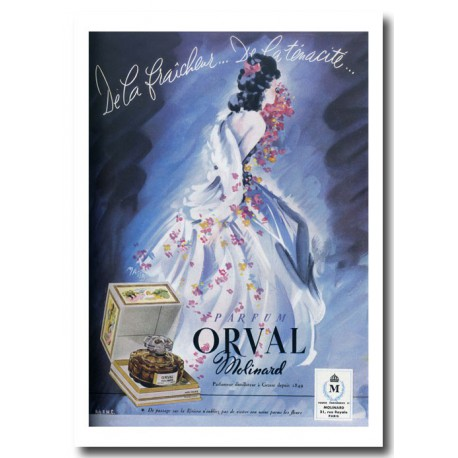 Publicité Parfum Molinard 1947