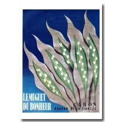 Publicité Parfum Caron le Muguet 1