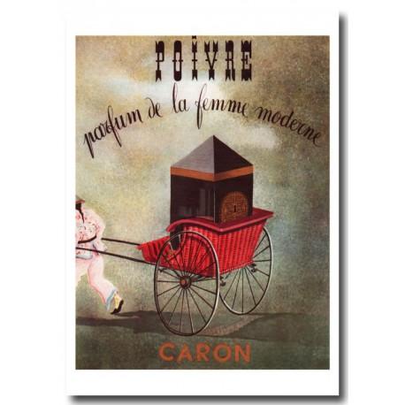 Publicité Parfum Caron Poivre