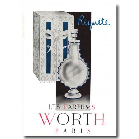 Publicité Parfum Worth