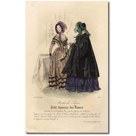 Petit courrier des dames 1842 1798