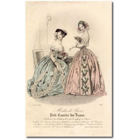Petit courrier des dames 1843 1898