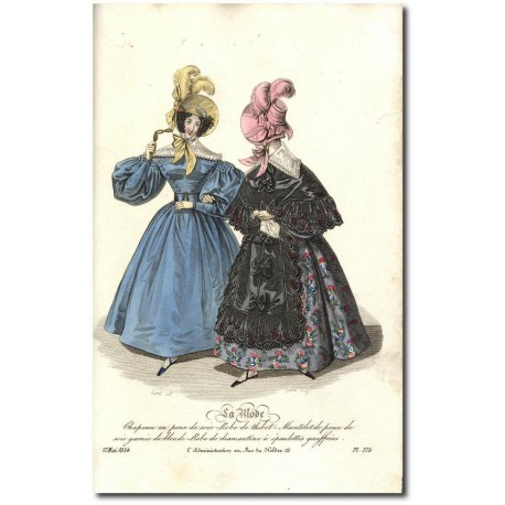 La Mode 1834 374