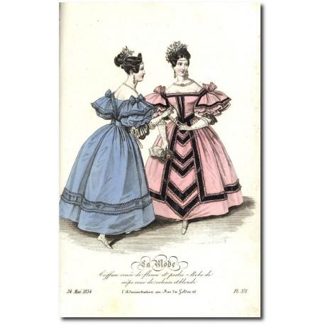 La Mode 1834 375