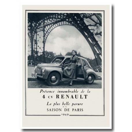 Publicité Renault 4