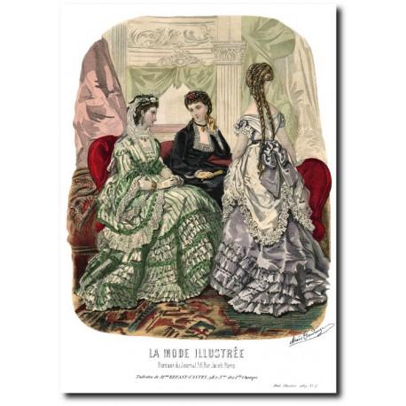 La Mode Illustrée 1869 2