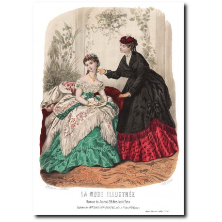 La Mode Illustrée 1869 12