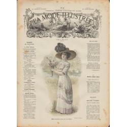 Revue complète de La Mode Illustrée 1909 N°37