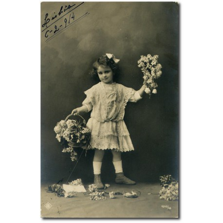Postcard -child-1914