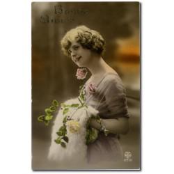 Carte postale 1900 54