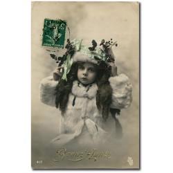 Carte postale 1900 111