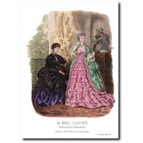 La Mode Illustrée 1869 16