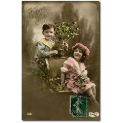 Carte postale 1900 151