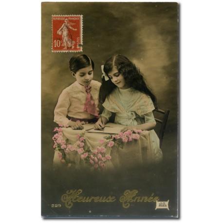 Carte postale 1900 183