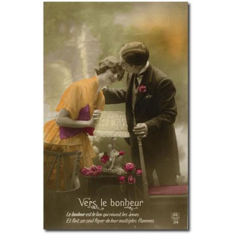 Carte postale 1900 321