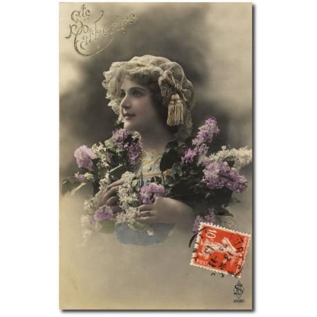 Carte postale 1900 383-catherine
