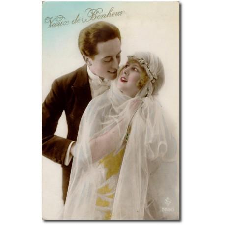 Postcard 1900 392-married