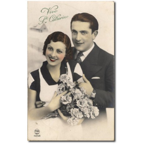 Carte postale 1900 404-couple