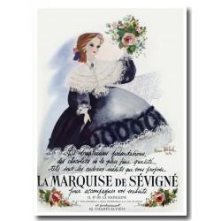 Publicité Chocolats La Marquise de Sévigné