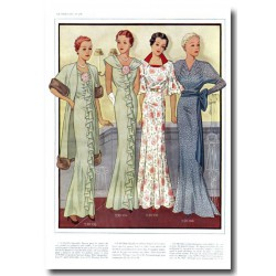 Fashion plates La Coquette 1935 08