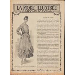 Complete magazine La Mode Illustrée 1916 N°17