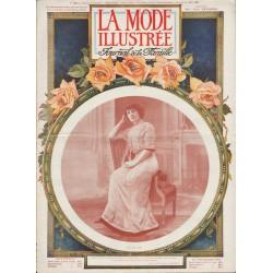 Complete magazine La Mode Illustrée 1910 N°32