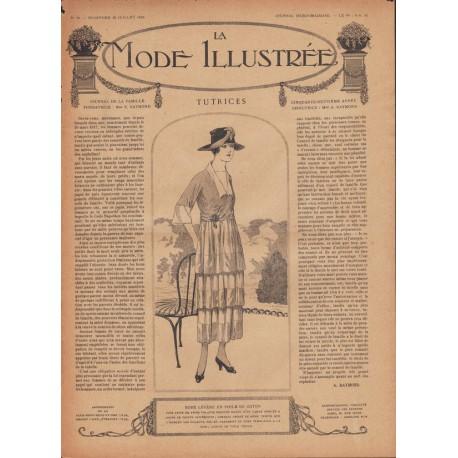 Complete magazine La Mode Illustrée 1918 N°30