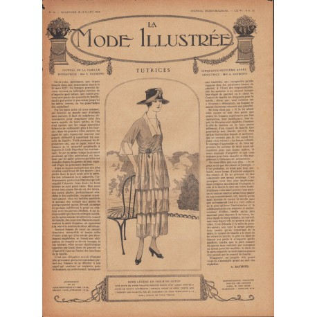 Revue complète de La Mode Illustrée 1918 N°30