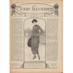 Complete magazine La Mode Illustrée 1918 N°44