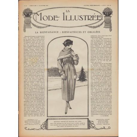 Revue complète de La Mode Illustrée 1918 N°48