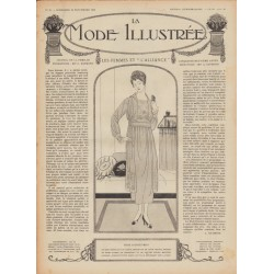 Complete magazine La Mode Illustrée 1918 N°38