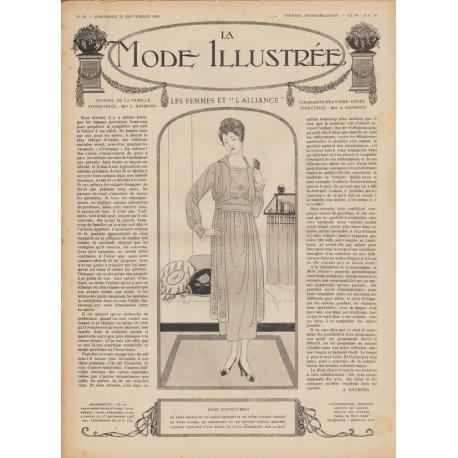 Revue complète de La Mode Illustrée 1918 N°38