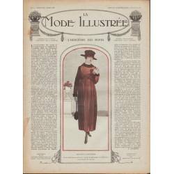 Complete magazine La Mode Illustrée 1918 N°04