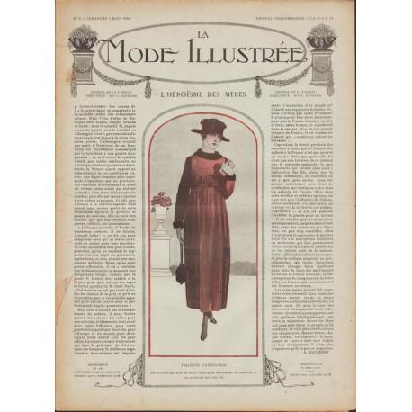 Revue complète de La Mode Illustrée 1918 N°09