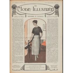 Complete magazine La Mode Illustrée 1918 N°39