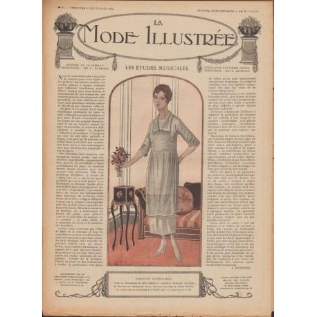 Revue complète de La Mode Illustrée 1918 N°37