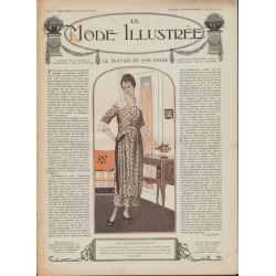 Revue complète de La Mode Illustrée 1918 N°35