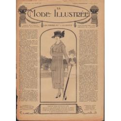Complete magazine La Mode Illustrée 1918 N°36