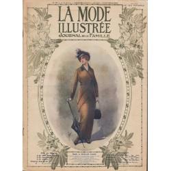 Complete magazine La Mode Illustrée 1914 N°19