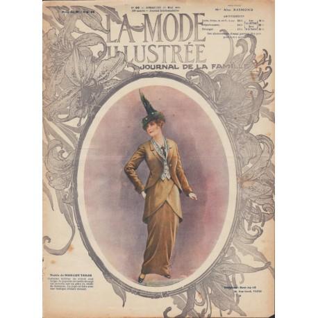 Complete magazine La Mode Illustrée 1914 N°20